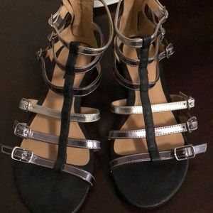 Forever 21 Gladiator Sandals Size 6